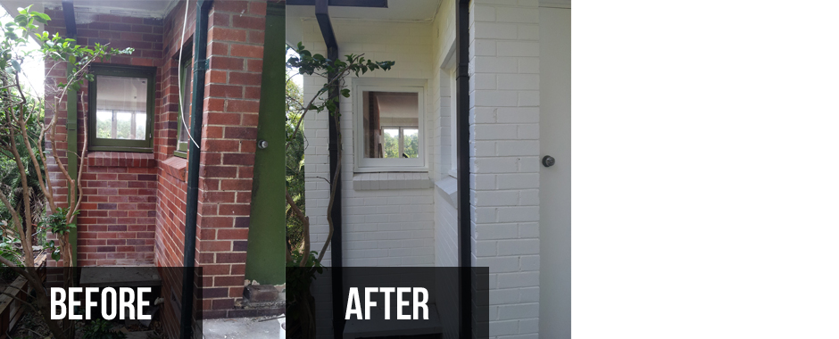 Sydney painting services before and after